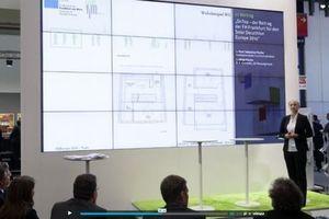 Außenkommunikation: Auf der Expo Real in München stellt das Team ihr Projekt vor