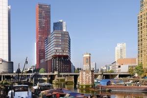 Red Apple, Rotterdam/NL, Appartementhaus, mit Büros, Läden, Gastronomie, 2002-2009<br /><br />