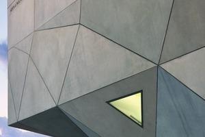 Die Quadratur des Dreiecks auch auf der Außenhaut