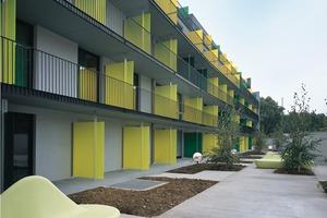 Studentenwohnheim in Argenteuil, 2003