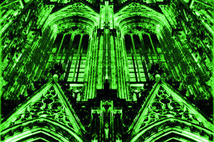 """Ganz Köln ist der Dom … oder, wie im September, die """"plan08"""", Thema: Urbanismus"""