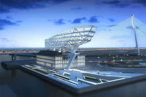 Entwurf für die Hafenbehörde in Antwerpen