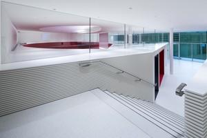Über das Forum können zwei Hörsäle, ein Konferenzraum und zehn Gruppenarbeitsräume (sogenannte Break-Out-Rooms) erreicht werden