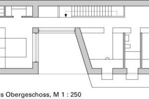 Obergeschoss, M 1:250<br />