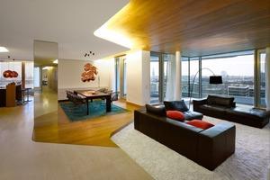 """<div class=""""14.6 Bildunterschrift"""">Die Wohnungen werden """"design-ready"""" angeboten. Eigentümer können ihre Wohnung mit Unterstützung von ausgewählten Architekten individuell ausbauen. Behnisch Architekten legen bei ihren Ausbauvorschlägen besonderen Wert auf die Nutzung von Tageslicht und  auf großzügige Ausblicke</div>"""
