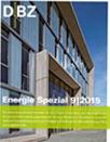 DBZ Energie Spezial 09|2015